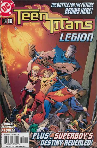 Teen Titans (2003) 16-A by DC