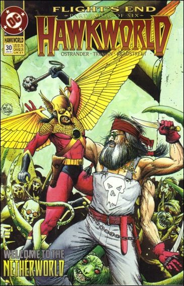 Hawkworld (1990) 30-A by DC