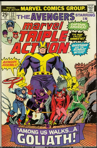 Marvel Triple Action (1972) 22-A by Marvel
