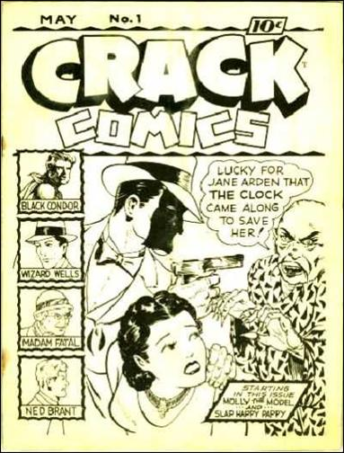 Crack Comics Ashcan-A by Quality