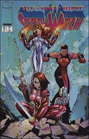 StormWatch (1993) 40-A by Image