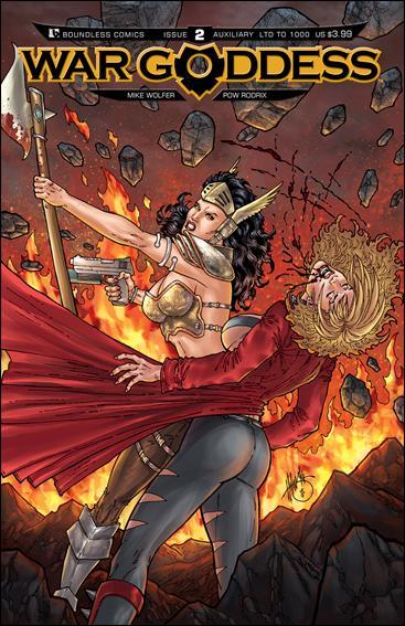 War Goddess 2-E by Boundless Comics
