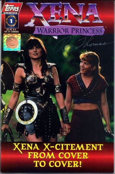Xena: Warrior Princess (1997) 1-D by Topps