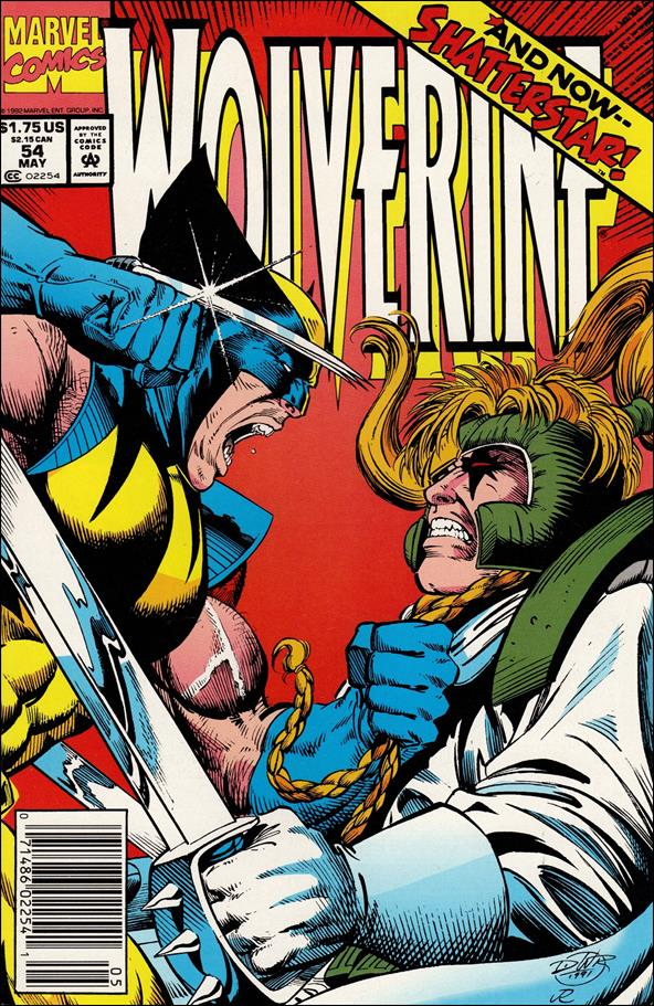 Wolverine (1988)  54-A by Marvel