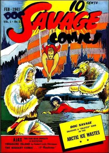 Doc Savage Comics (1940) 3-A by Street and Smith Publications