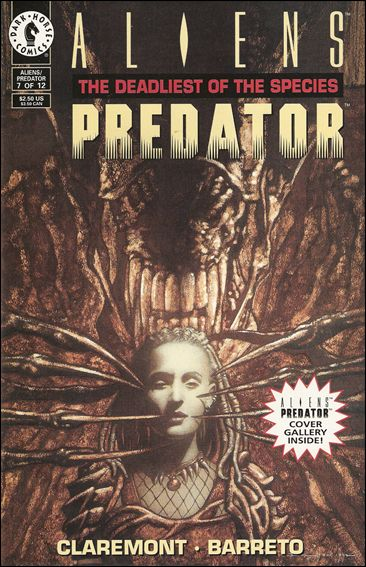 Aliens/Predator: The Deadliest of the Species 7-A by Dark Horse