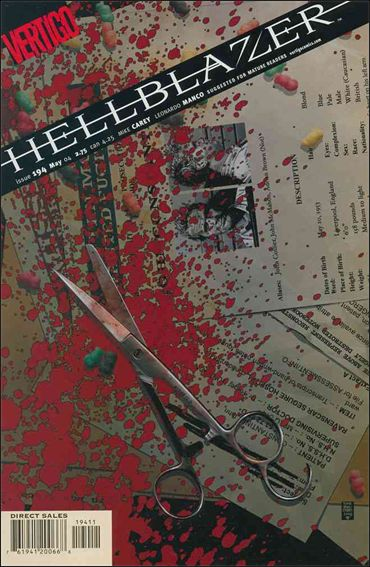 Hellblazer 194-A by Vertigo