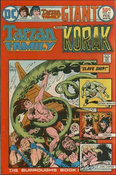 Tarzan Family 61-A by DC