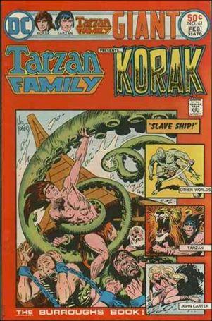 Tarzan Family 61-A