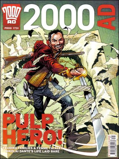 2000 A.D. (UK) 1731-A by Rebellion