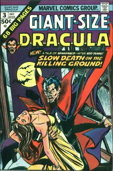 Giant-Size Dracula 3-A by Marvel