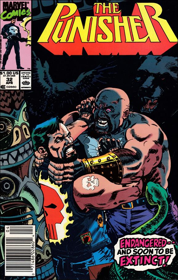 Punisher (1987) 32-A by Marvel