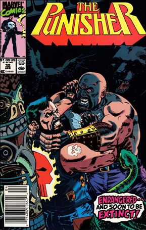 Punisher (1987) 32-A