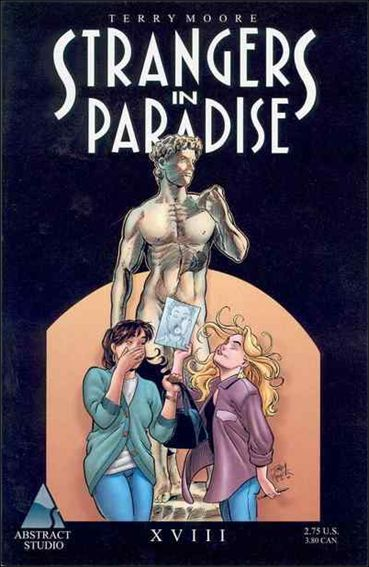 Terry Moore's Strangers in Paradise 18-A by Abstract Studio