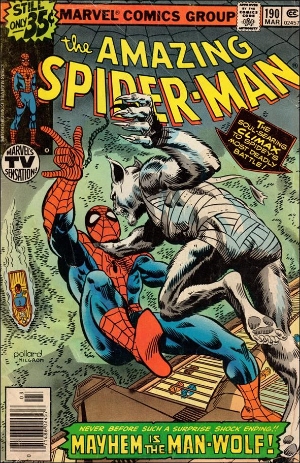 Amazing Spider-Man (1963) 190-A by Marvel
