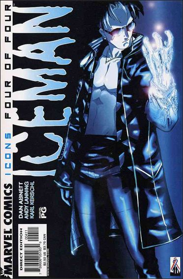 Iceman (2001) 4-A by Marvel
