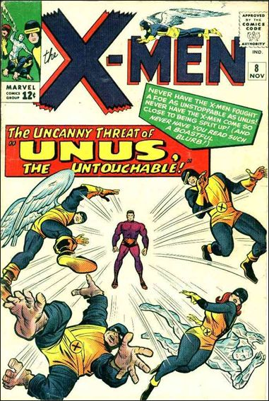 X-Men (1963) 8-A by Marvel