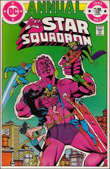 All-Star Squadron Annual 1-A by DC