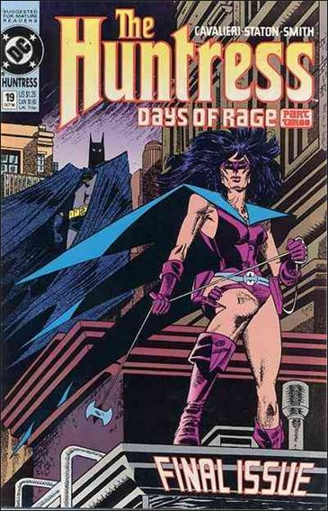Huntress (1989) 19-A by DC