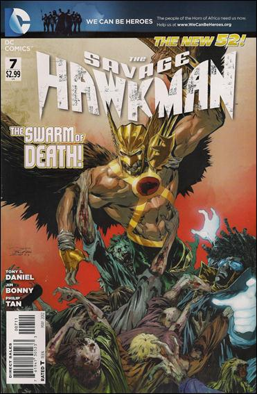 Savage Hawkman 7-A by DC