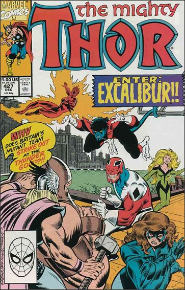 Thor (1966) 427-A by Marvel