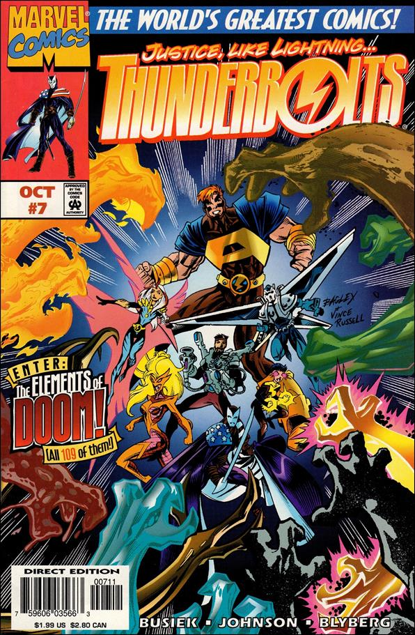 Thunderbolts (1997) 7-A by Marvel
