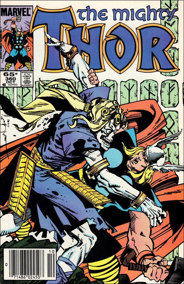 Thor (1966) 360-A by Marvel
