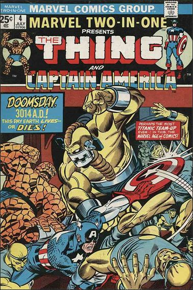 Marvel Two-in-One (1974) 4-A by Marvel