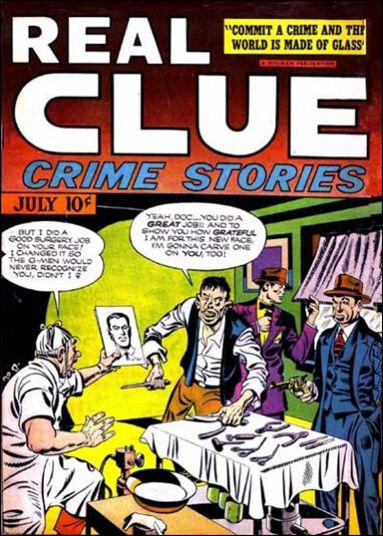 Real Clue Crime Stories (1947) 5-A by Hillman