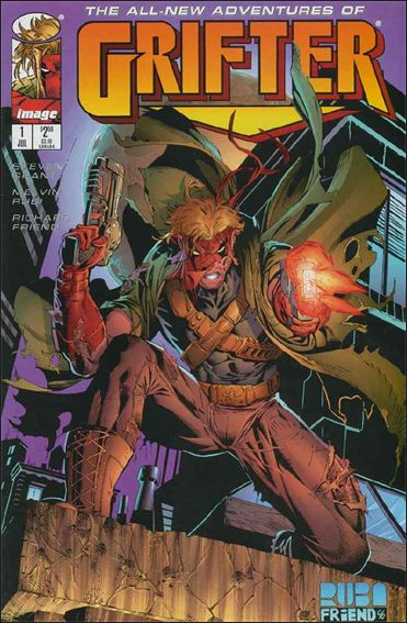 Grifter (1996) 1-A by Image
