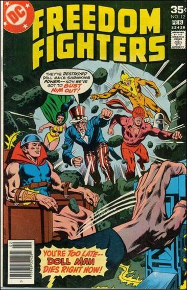 Freedom Fighters (1976) 12-A by DC