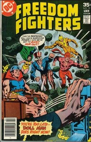 Freedom Fighters (1976) 12-A