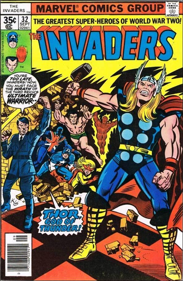 Invaders (1975) 32-A by Marvel