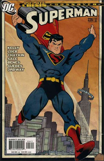 Superman (1987) 226-A by DC