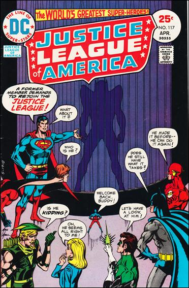 Justice League of America (1960) 117-A by DC