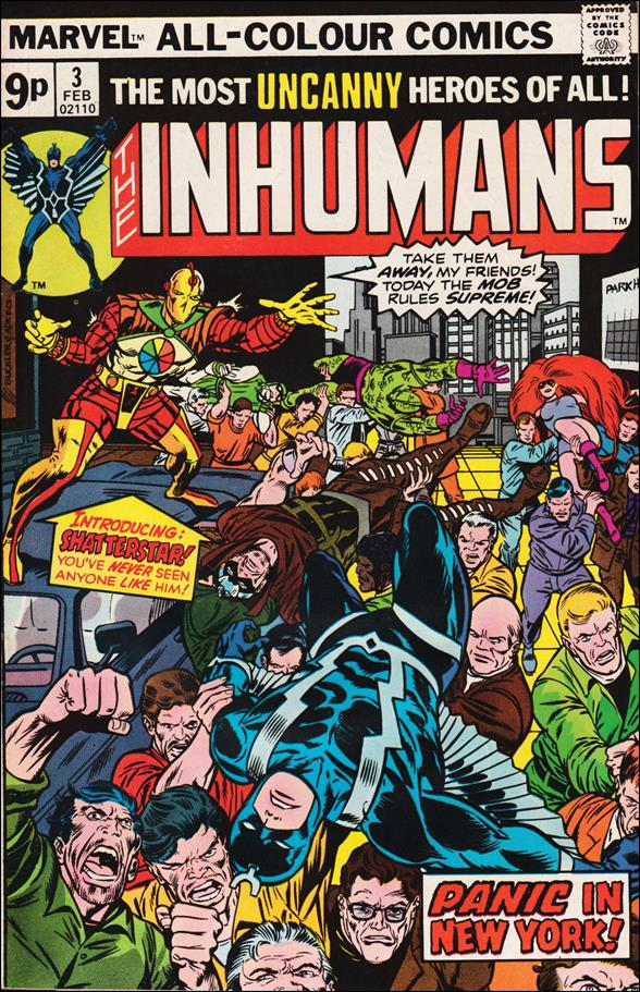 Inhumans (1975) 3-B by Marvel