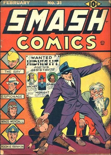 Smash Comics (1939) 31-A by Quality