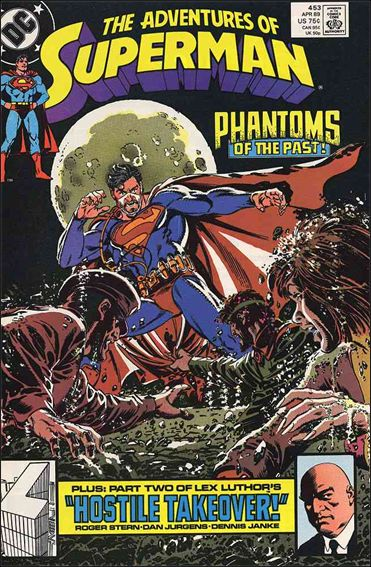 Adventures of Superman (1987) 453-A by DC