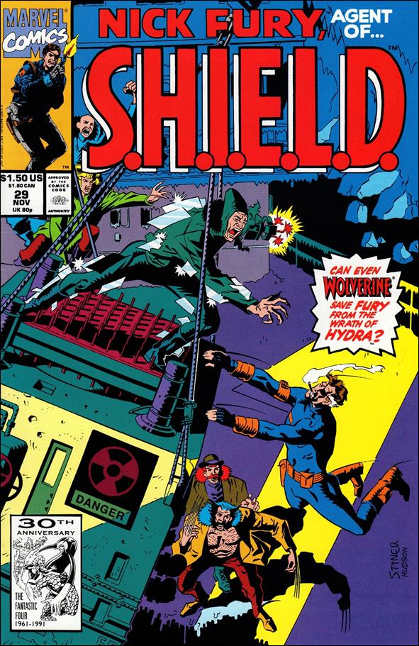 Nick Fury, Agent of S.H.I.E.L.D. (1989) 29-A by Marvel