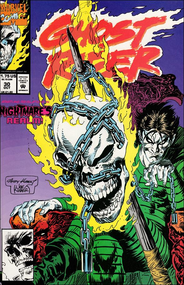 Ghost Rider (1990) 30-A by Marvel