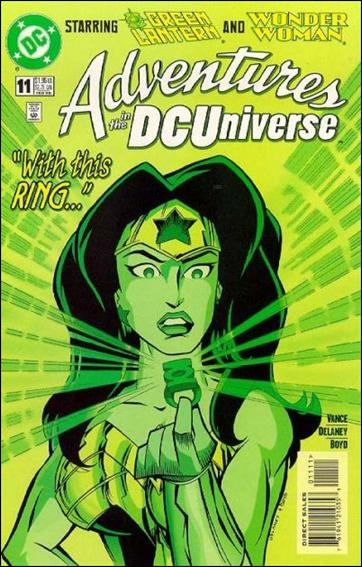 Adventures in the DC Universe 11-A by DC