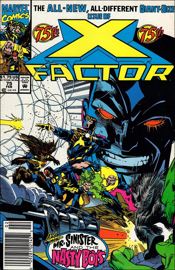 X-Factor (1986) 75-A by Marvel
