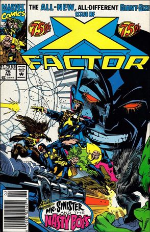 X-Factor (1986) 75-A