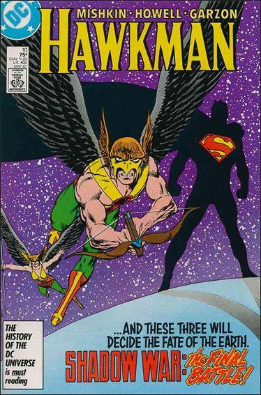 Hawkman (1986) 10-A by DC