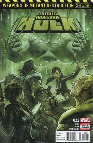 Totally Awesome Hulk 22-A