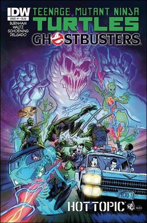 Teenage Mutant Ninja Turtles / Ghostbusters 1-F