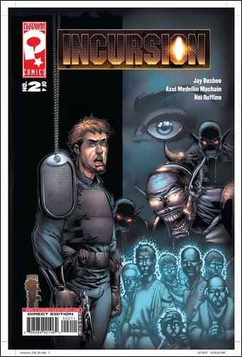 Incursion 2-A by Platinum Studios