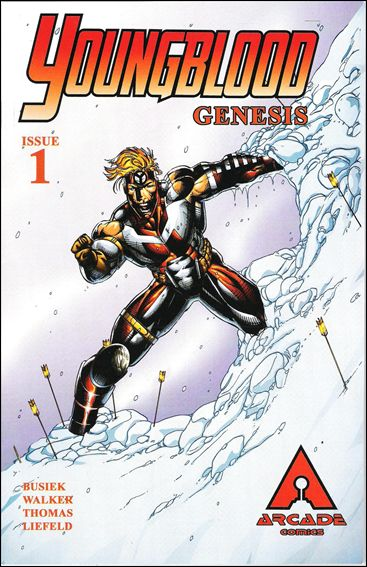 Youngblood Genesis 1-A by Arcade Comics