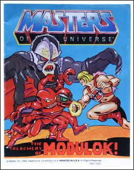 Masters of the Universe (1983) 4.10-B by Mattel