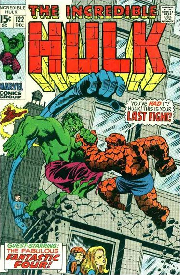 Incredible Hulk (1968) 122-A by Marvel